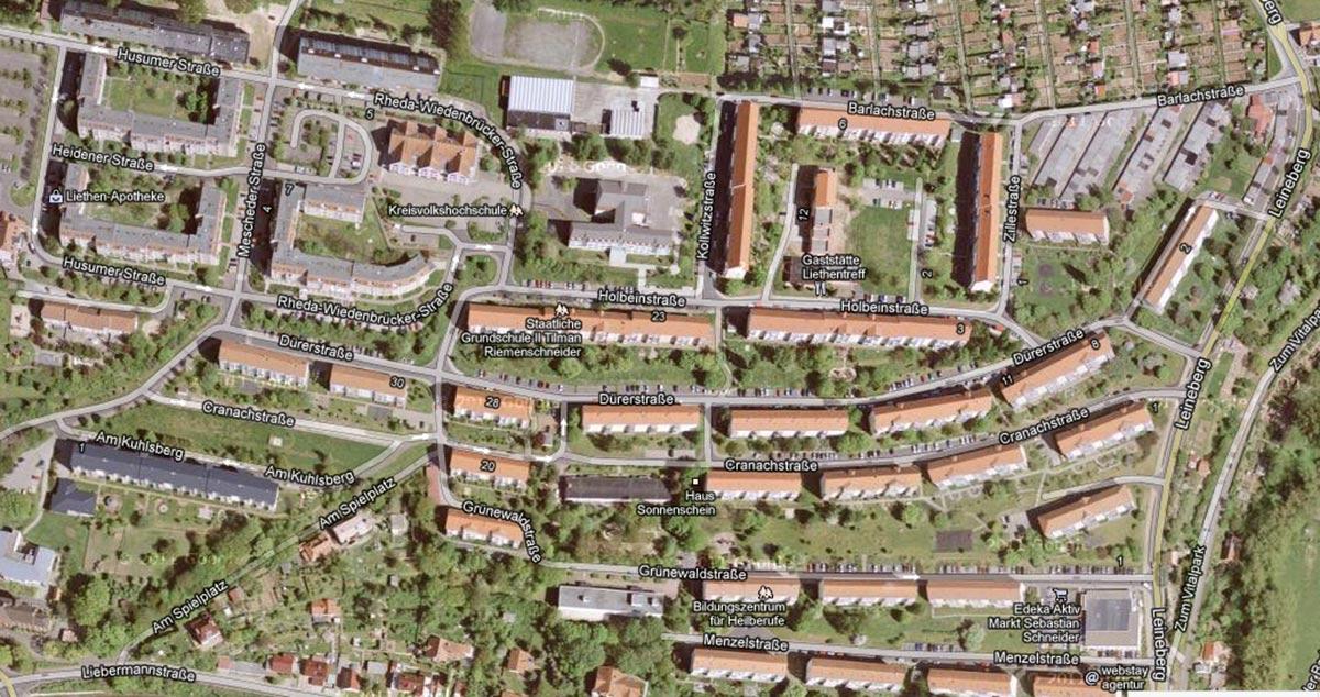 th.inka Stützpunkt Eichsfeld - Heiligenstadt auf den Liethen