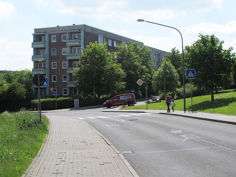 th.inka Stützpunkt Weimar - Weimar Schöndorf – Blick auf Im Winkel