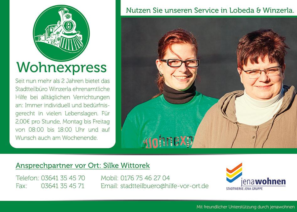 Wohnexpress Jena Winzerla