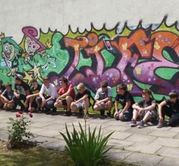 th.inka Stützpunkt Nordhausen: Graffiti-Workshop