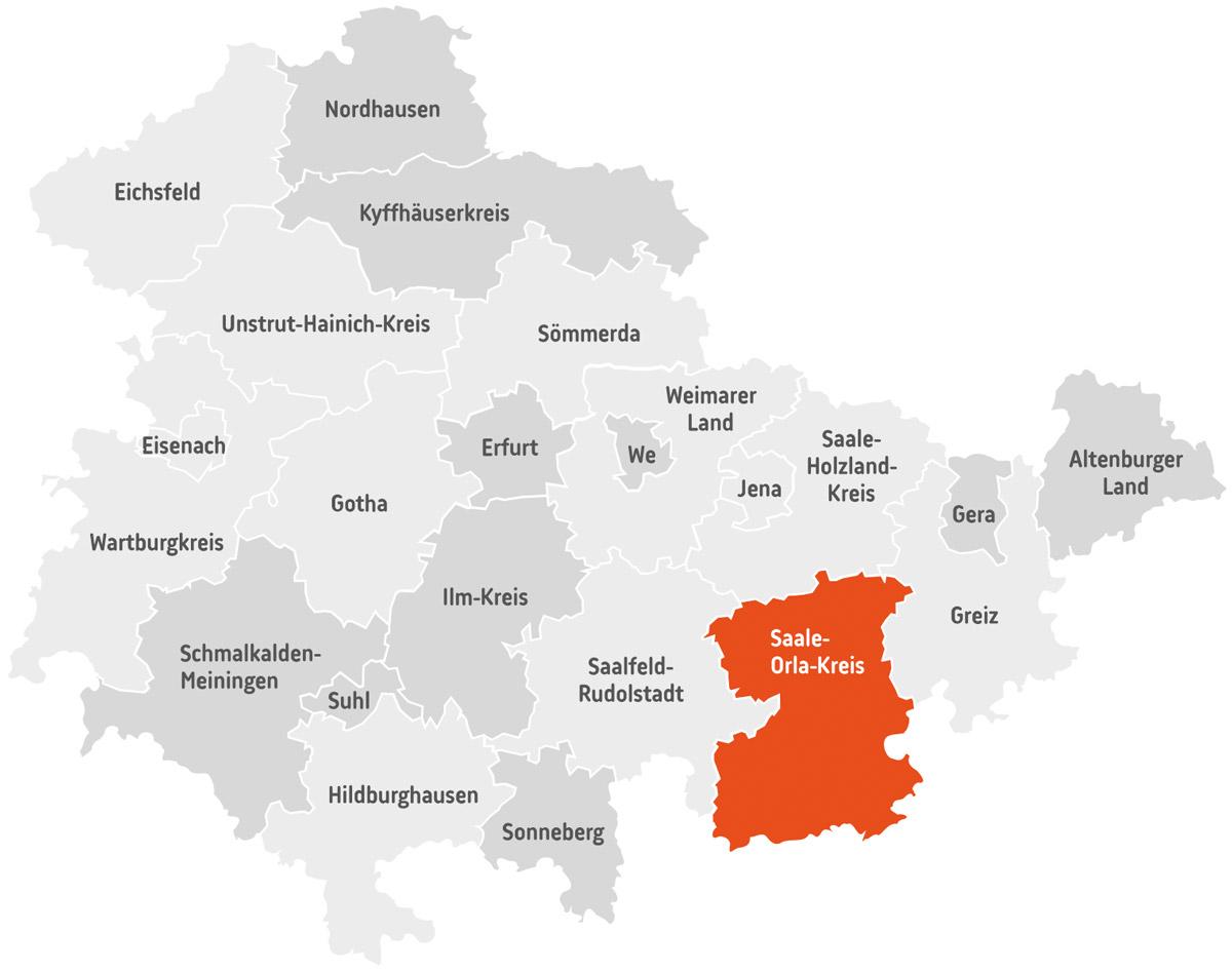 th.inka Stützpunkt Saale-Orla-Kreis
