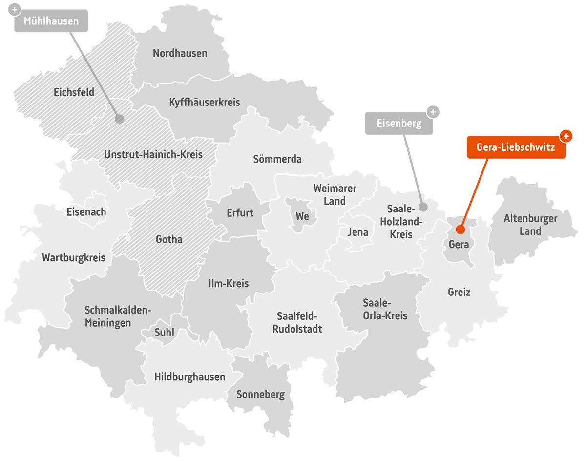 th.inka.plus Stützpunkt Gera-Liebschwitz