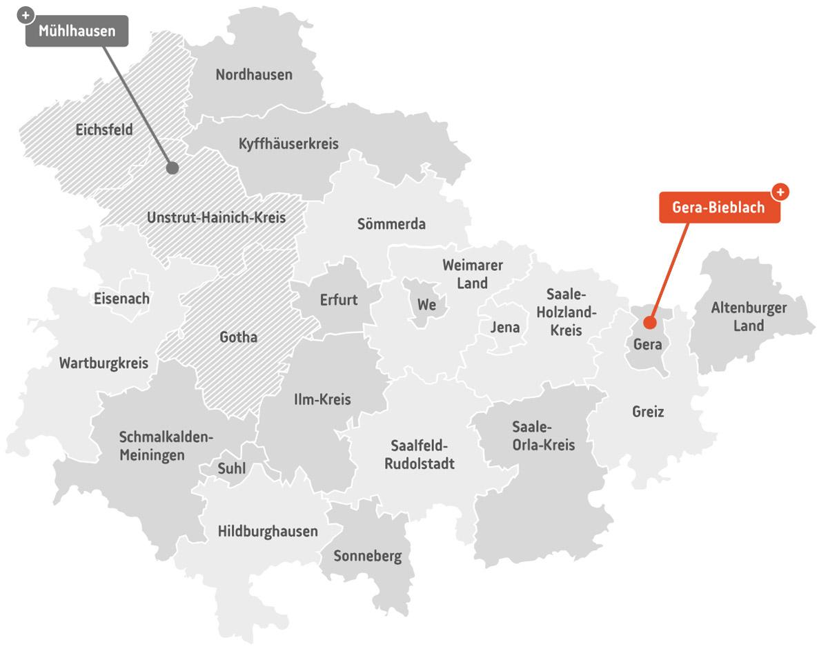 th.inka.plus Stützpunkt Gera-Bieblach